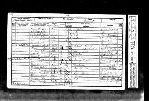 1851 Census Sarah Errington page 2