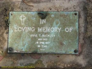 Ann Therese Buckley