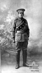 Sergeant Edward Mariner Andrews, WW1, 58th Bat, no: 3005