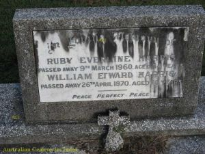 Ruby Everline Harris and William Edward  Harris