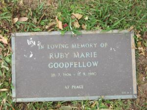 Ruby Marie Goodfellow