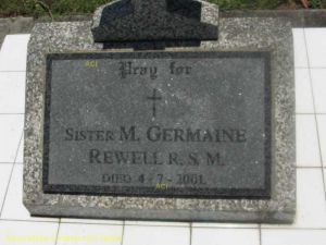 Sister Mary Germaine Rewell