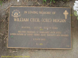 William Cecil (Cec) Hogan