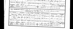 William Hold and Ann Garley, marriage, 28 Nov 1839