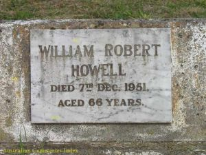 William Robert Howell
